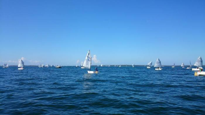 Opti States - when it is a day like this I realise how lucky I am to be on the water.