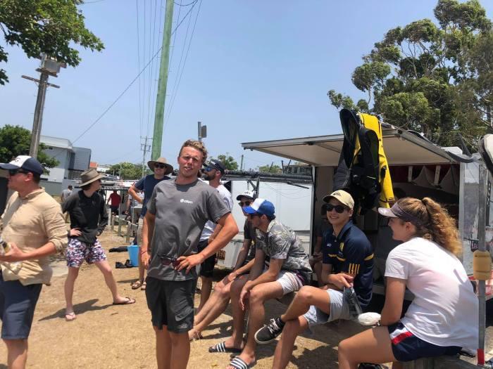 Aussie Skiff onshore action